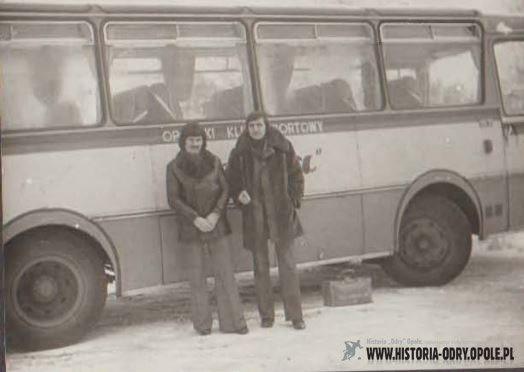 Klubowy autokar Odry [lata 70']